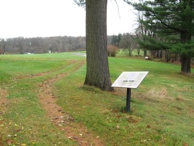 The Carriage Drive and Roadways Marker image. Click for full size.
