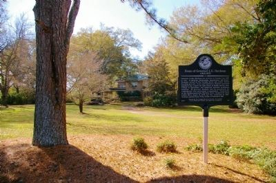 Home of Governor L.G. Hardman and Marker image. Click for full size.