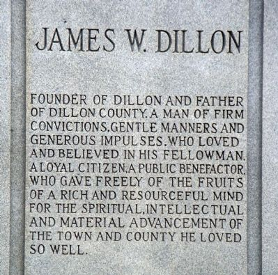 James W. Dillon Marker image. Click for full size.