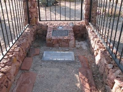 Grave of John Wesley Hardin, Concordia Cemetery, El Paso image. Click for full size.