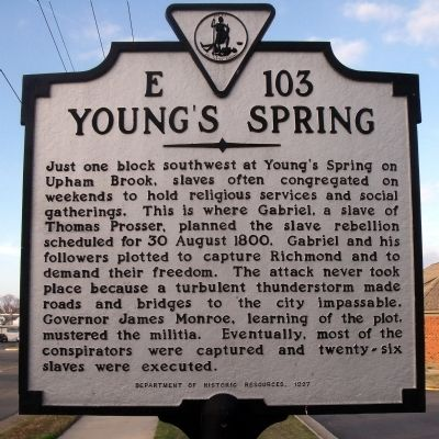 Young's Spring Marker image. Click for full size.