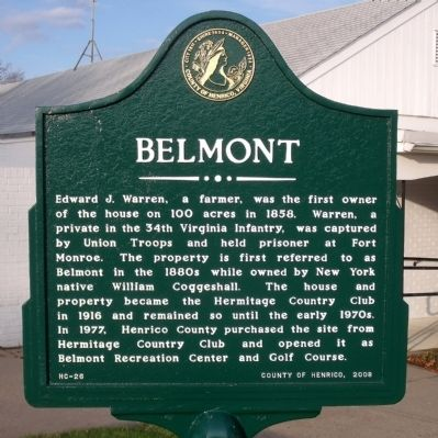 Belmont Marker image. Click for full size.