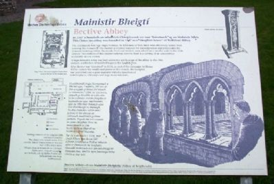 Bective Abbey / Mainistir Bheigtí Marker image. Click for full size.