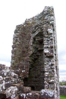 Bective Abbey Stairwell Ruins image. Click for full size.
