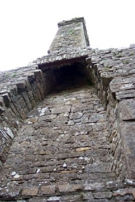 Bective Abbey Chimney Remains image. Click for full size.