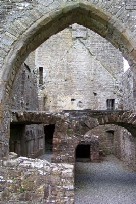 Bective Abbey Interior View image. Click for full size.