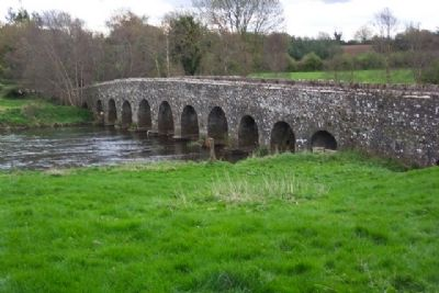 Bective Road Bridge Over River Boyne image. Click for full size.