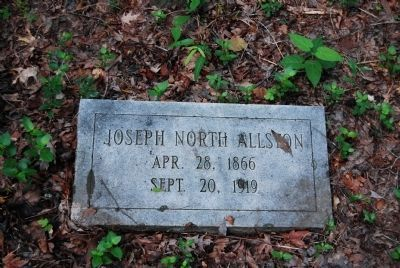 Joseph North Allston<br>Apr. 28, 1866-Sept. 20, 1919 Photo, Click for full size