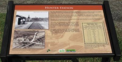 Hunter Station Marker image. Click for full size.