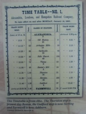 Train Timetable image. Click for full size.