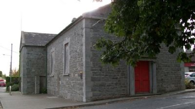 Duleek Courthouse and Marker image. Click for full size.