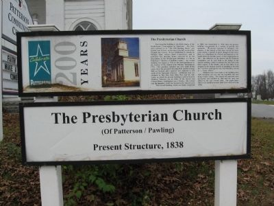 The Presbyterian Church Marker image. Click for full size.