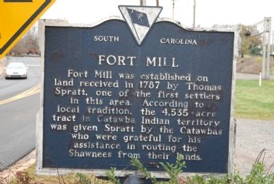 Fort Mill Marker Photo, Click for full size