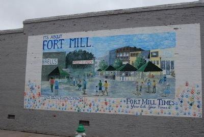 Fort Mill Mural Photo, Click for full size