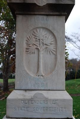 Fort Mill Confederate Memorial Photo, Click for full size