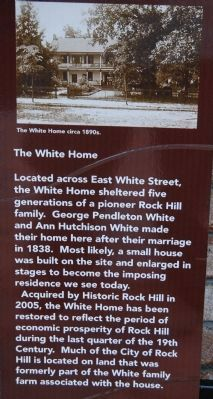 The White Home Marker image. Click for full size.