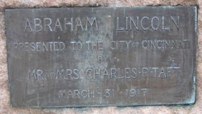 Abraham Lincoln Monument Marker image. Click for full size.