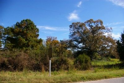 Site of Chivers Plantation and Store Marker Photo, Click for full size