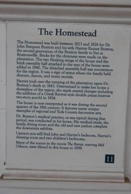 The Homestead Marker image. Click for full size.