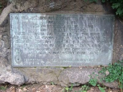 Battle of Germantown Marker image. Click for full size.