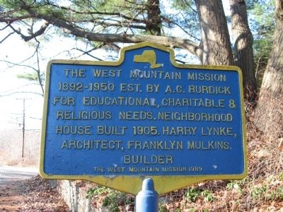 The West Mountain Mission Marker image. Click for full size.