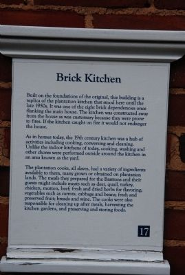 Brick Kitchen Marker image. Click for full size.