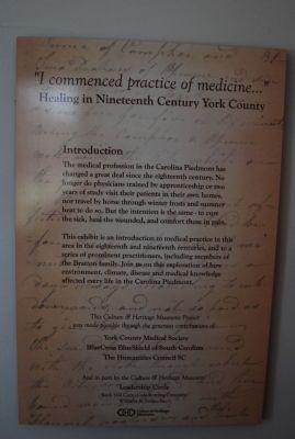 """I commenced practice of medicine..."" plaque image. Click for full size."