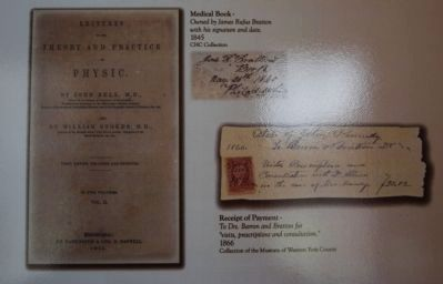 Medical Book and Receipt of Payment image. Click for full size.