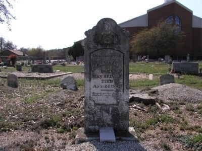 James M. Trammell Gravestone image. Click for full size.