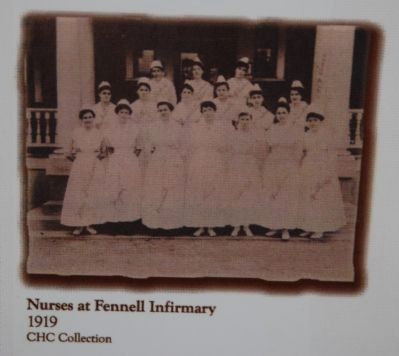 Nurses at Fennell Infirmary image. Click for full size.