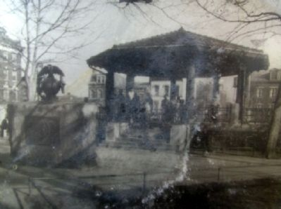 Bandstand Photo on Mullen Marker image. Click for full size.
