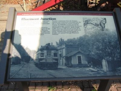 Bluemont Junction Marker Photo, Click for full size