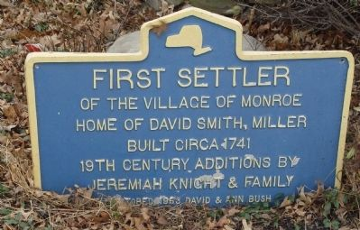 First Settler Marker image. Click for full size.