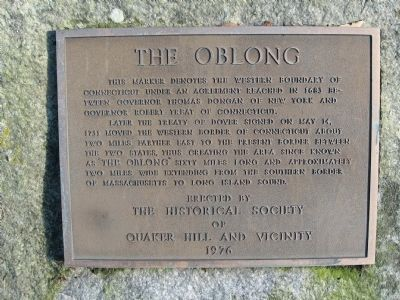 The Oblong Marker image. Click for full size.