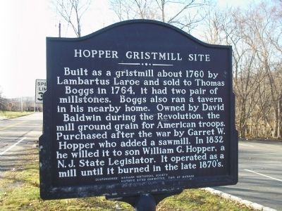 Hopper Gristmill Site Marker image. Click for full size.