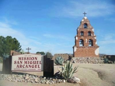 Mission San Miguel Arcangel Campanario image. Click for full size.