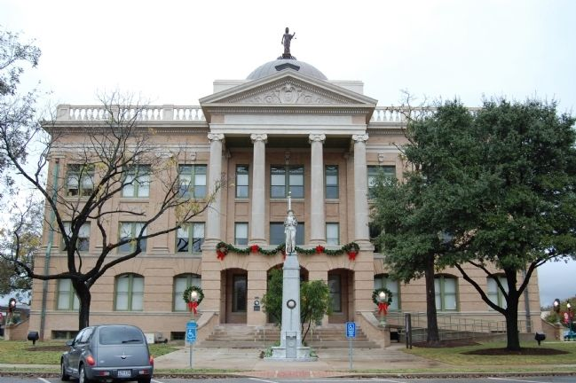 Williamson County Courthouse image. Click for full size.