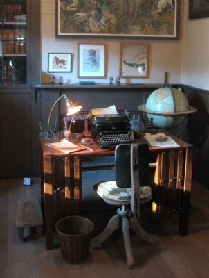 The Cottage - Jack London's Study image. Click for full size.