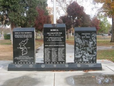 Kern County Korean War Memorial Photo, Click for full size