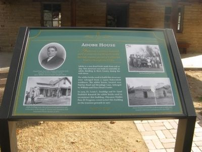Adobe House Marker Photo, Click for full size