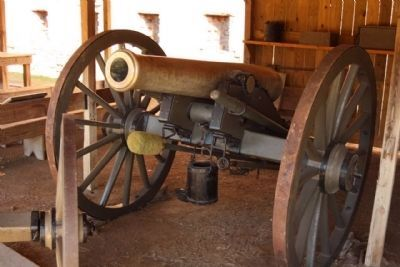The Napoleon 12-Pounder Field Gun Model 1857 Photo, Click for full size