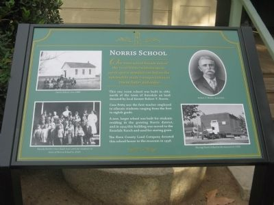 Norris School Marker image. Click for full size.