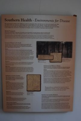 Southern Health Plaque image. Click for full size.