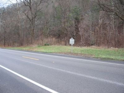Mechanicsburg Gap/Col. Claudius Crozet Marker image. Click for full size.