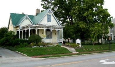 Ferguson House and Marker image. Click for full size.