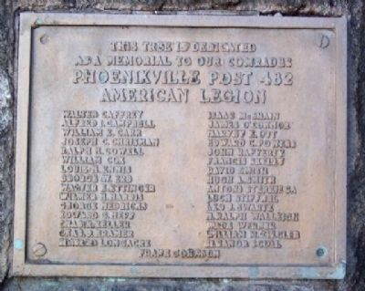 American Legion Post 482 War Memorial Marker image. Click for full size.