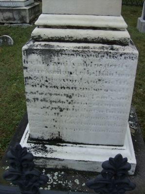Capt. Samuel G. Prather Marker (East face) Photo, Click for full size