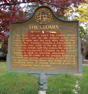 The Cedars Marker image. Click for full size.