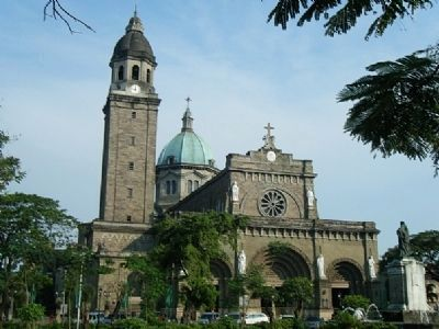 Manila Cathedral image. Click for full size.