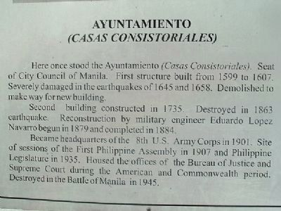 Ayuntamiento Marker image. Click for full size.